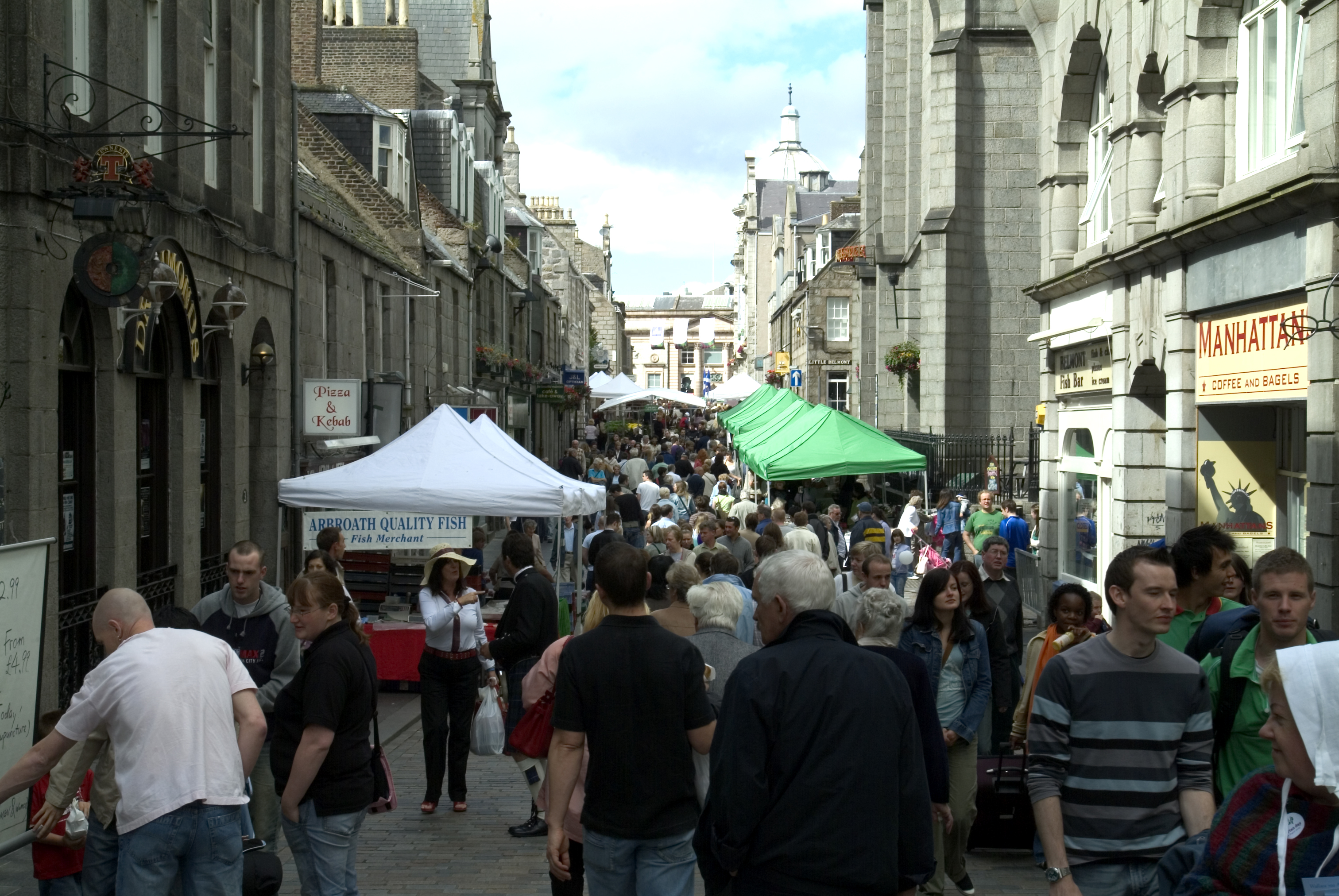 Aberdeen city centre market