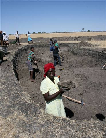 digging fish pond ondangwa constituency 0 - climate adaptation.