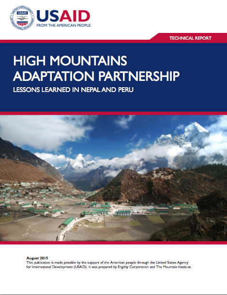 himap lessons learned cover photo 2 - climate adaptation.