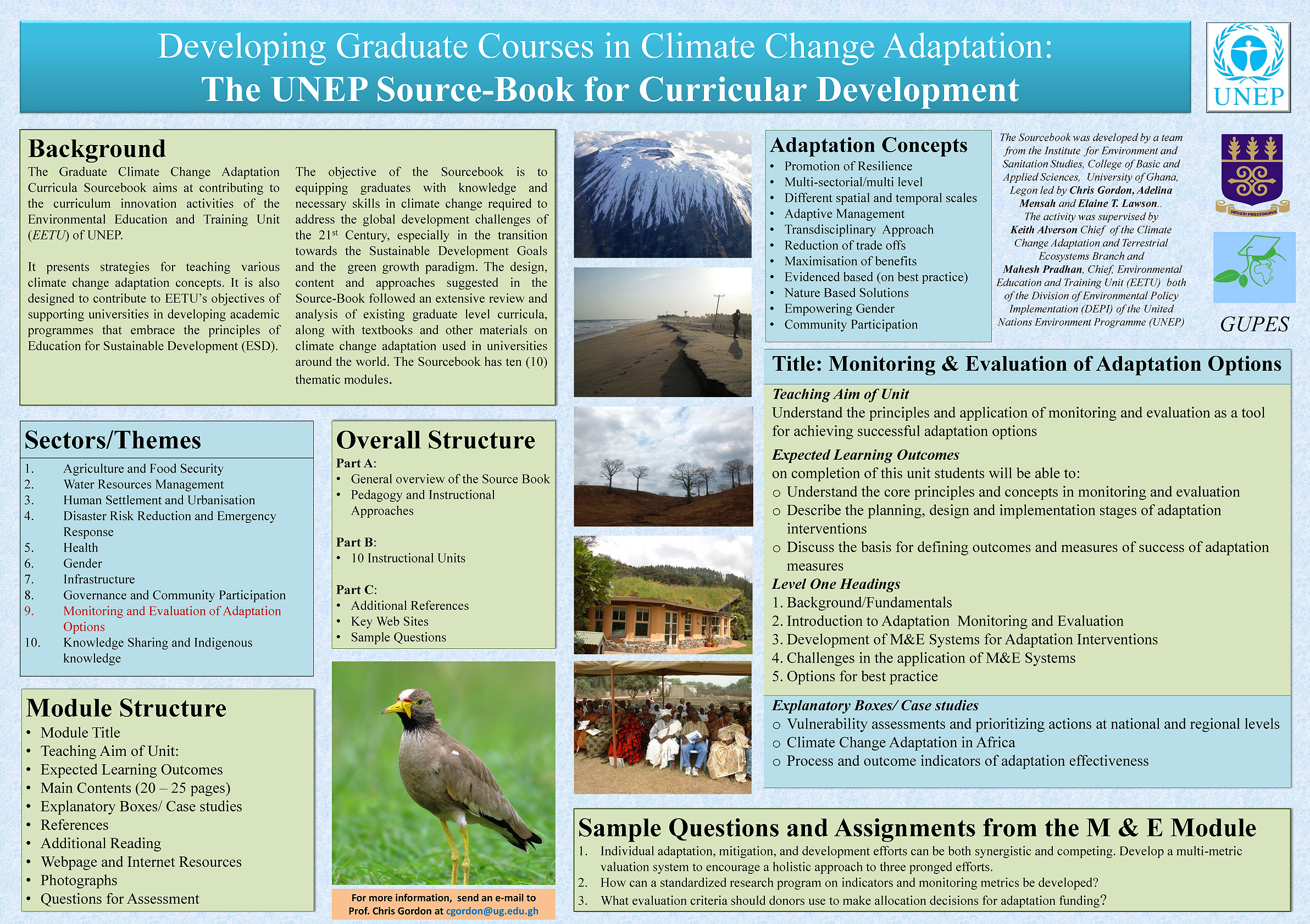 poster by gordon 0 - climate adaptation.