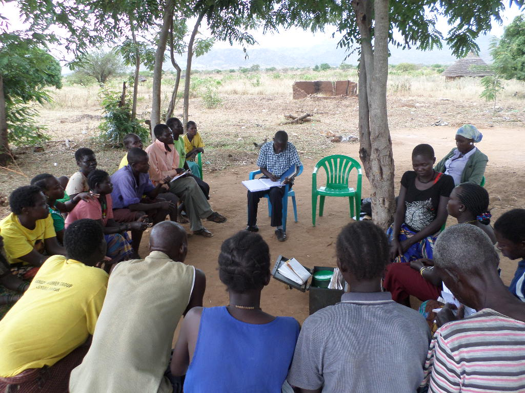A training workshop introducing Conservation Agriculture to the community.
