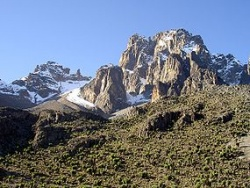 Mount Kenya Source: Wikipedia