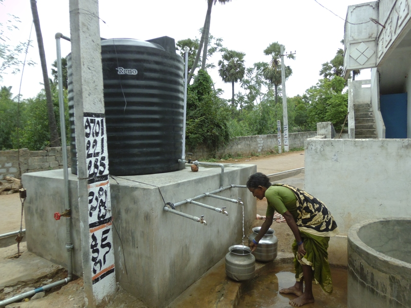 Installing A Drinking Water Purification And Distribution