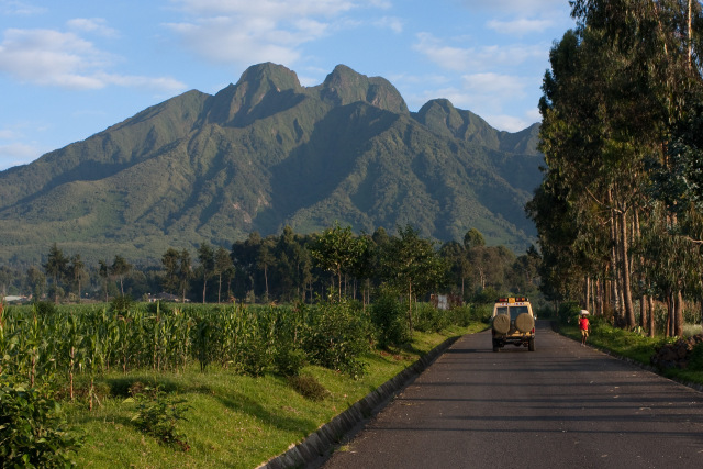 Current vulnerability in the Virunga  landscape, Rwanda