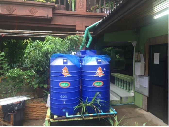 Adaptation option rainwater collection (photo credit: Janto S. Hess)
