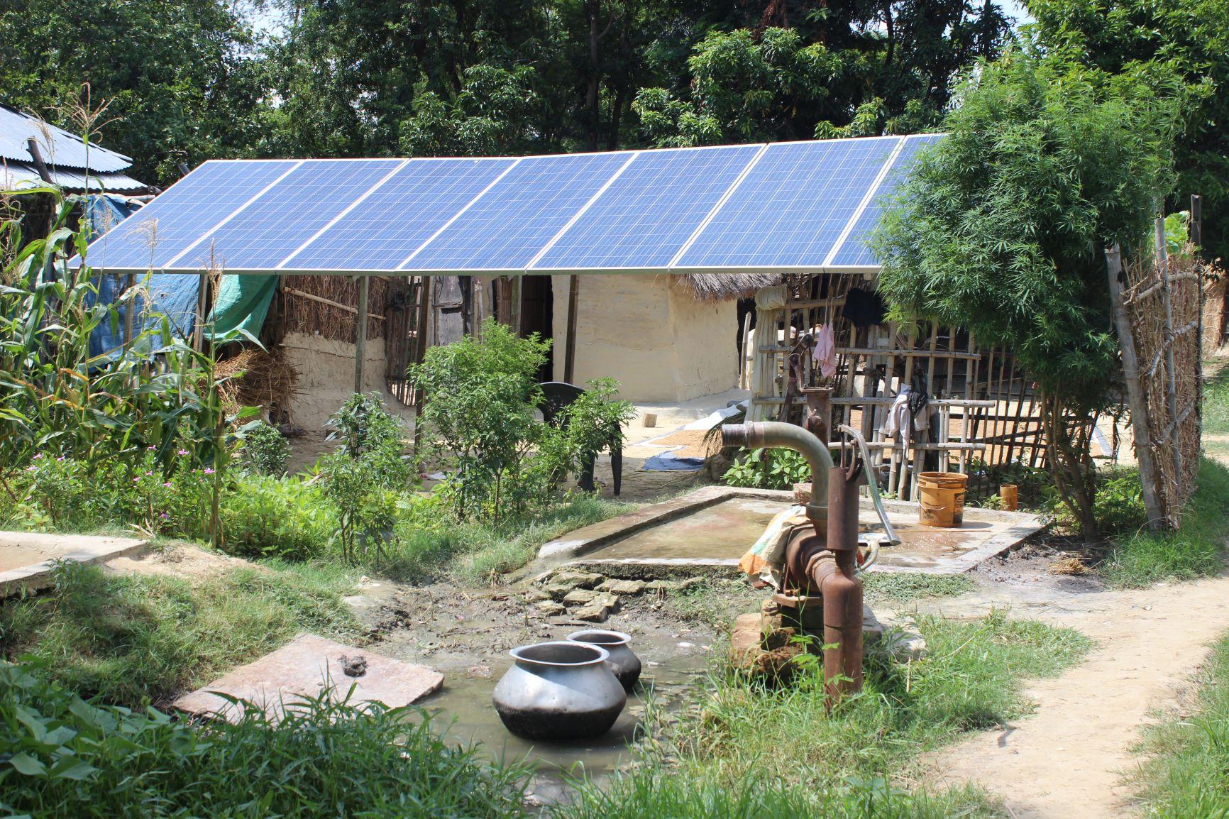 Solar Pump in Contract Farming