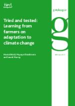 15086-0 - climate adaptation.