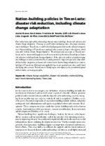 16686-0 - climate adaptation.