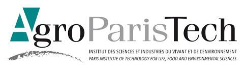 logo agroparistech - climate adaptation.
