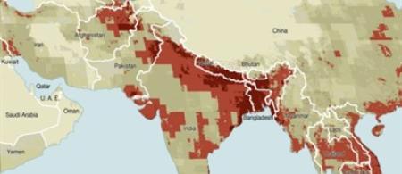 Credit: Riccardo Pravettoni, UNEP/GRID-Arendal; http://www.grida.no/graphicslib/detail/climate-change-vulnerability_7c99