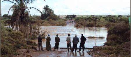 Floods in Rbat, Souss-Massa-Draa, Morocco in 2010 (Credit: Mhobl; https://www.flickr.com/photos/87106931@N00/)