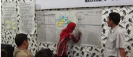 Workshop in action, Lombok