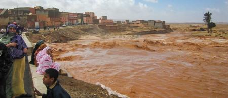 Floods in Guelmim, Morocco in March 2013 (Credit: jbdodane; https://www.flickr.com/photos/jbdodane/).