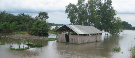 Flood in Benin Niger River