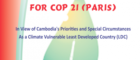 cambodia cop 21 brief - climate adaptation.