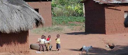 Community in Makoya, Chingali