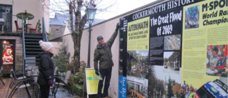 The Cockermouth History Wall