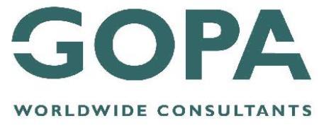 gopa logo - climate adaptation.