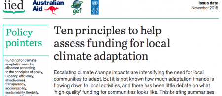 iied 10 p - climate adaptation.