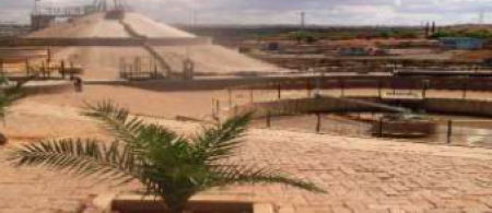 Bioreactor at Gammams water reclamation plant. Photo provided by: City of Windhoek.