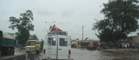 Flood in Dakar (Photo by MyriamLouviot)