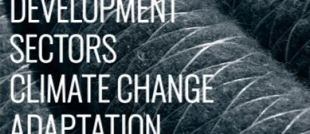 Cover page of Agriculture & Rural Development Sector Climate Change Adaptation Guidance Note