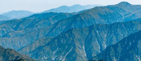 Mountain range in Kazakhstan