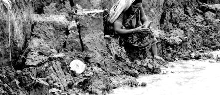 Bangladesh river erosion affects livelihoods