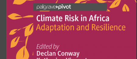 Book cover-Climate Risk in Africa
