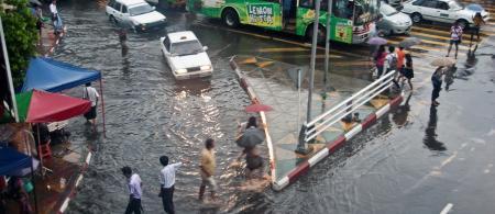 Yangon flooding