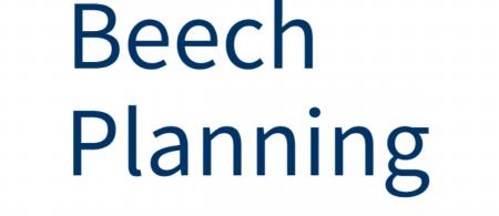 Beech Planning logo is text of the name.