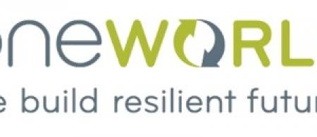 OneWorld Logo: we build resilient futures