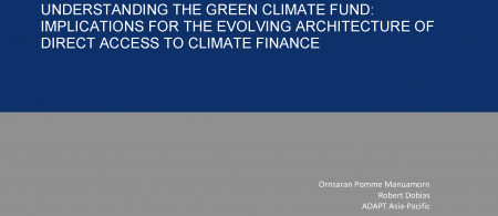 Understanding the Green Climate Fund