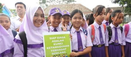 The enthusiasm of the young generation to get to know the issue of climate and disaster resilience.