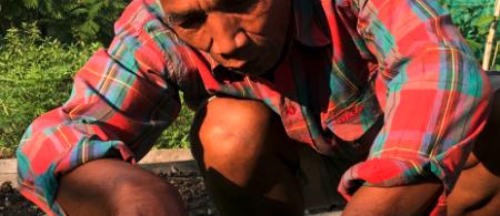 Farmer in Cambodia