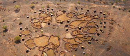 A village in Kenya