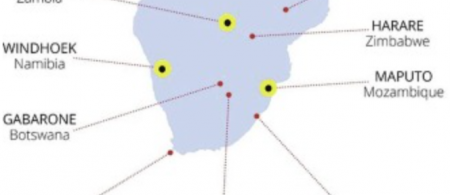 Map of FRACTAL partner cities with Tier 1 cities highlighted.