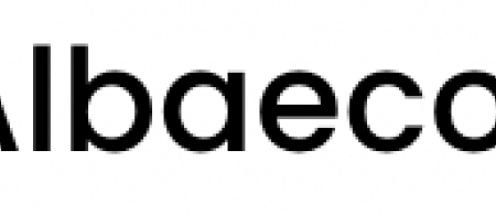 The logo is the word Albaeco in a simple black font.