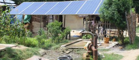 Solar Pump in Contract Farming