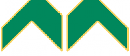 The UEM logo is a stylised logo of the letters U, E and M with the U and E positioned above the M. The logo is green with a yellow outline.