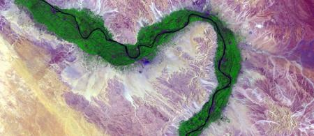 Nile from the space