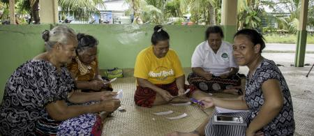 Assessment being conducted in Tuvalu.