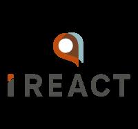 I REACT logo