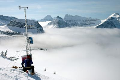 Garden Wall Weather Station in Glacier National Park, USA. Credit: U.S. Geological Survey