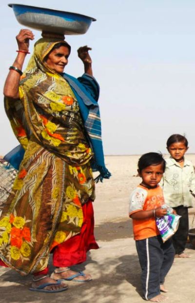 Communities in India are increasingly feeling the effects of drought and water shortages.