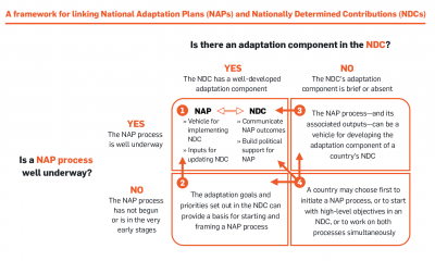 A framework for linking NAPs and NDCs