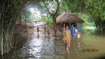 flooding. Photo by European Commission DG ECHO