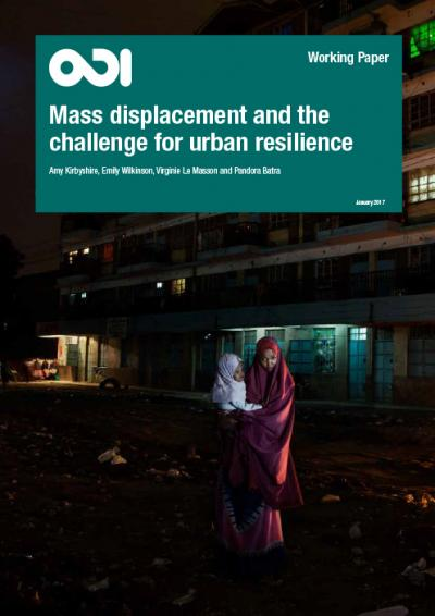 Mass displacement and the challenge for urban resilience working paper cover