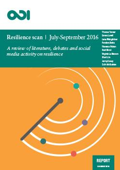 ODI Resilience Scan Jul-Sep 2016 cover