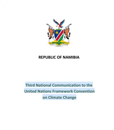 Image for Third National Communication to the UNFCCC